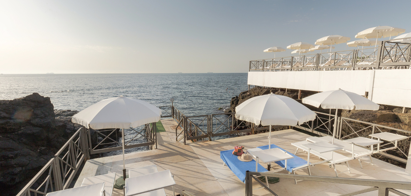 beach club Hotel Nettuno Catania
