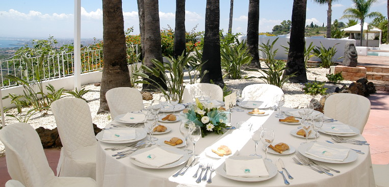 wedding a bordo piscina Hotel Nettuno Catania